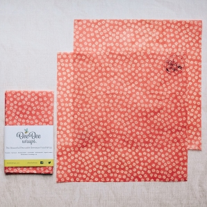 Daisies 2 large BeeBee Wraps Beeswax Wraps