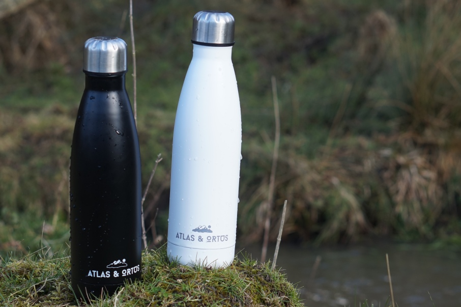 Atlas&Ortos stainless steel bottles