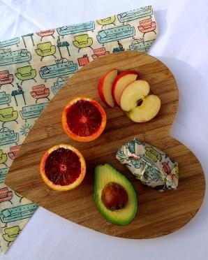 food wrap chopping board