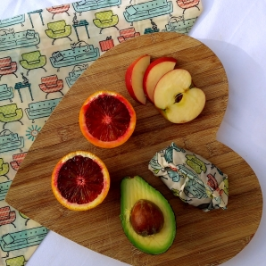food wrap chopping board